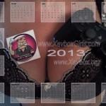 CALENDRIER XAVBOX 2013