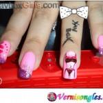 Nail Art Lily