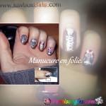 Nail Art manucure-en-folie